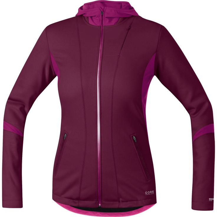 Wiggle | Gore Running Wear Ladies Sunlight Windstopper Softshell Hoody |  Running Windproof Jackets