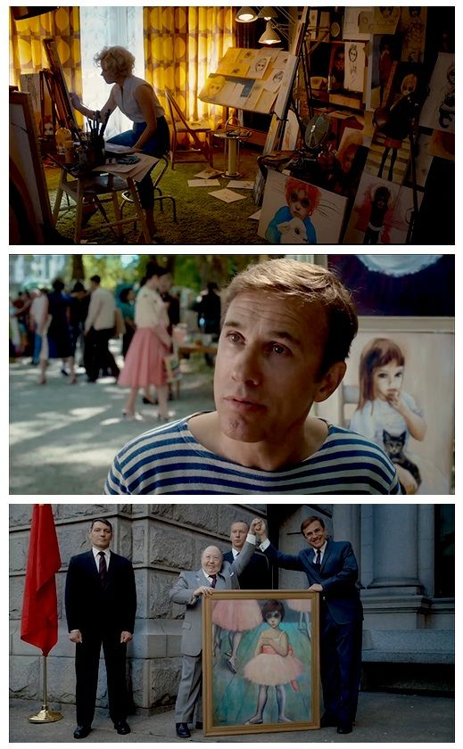 Amy Adams, Christoph Waltz in Big Eyes (Tim Burton, 2014)