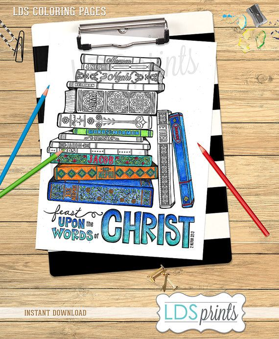 Lds Missionary Coloring Page