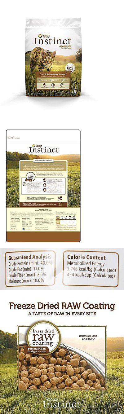 Cat Food 63073: Natures Variety Instinct Grain Free Duck And Turkey Meal Formula Dry Ca...New -> BUY IT NOW ONLY: $50.92 on eBay!
