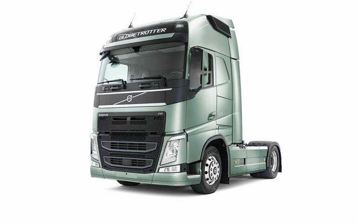 Descargar fondos de pantalla Volvo FH13, 2017, los camiones Nuevos, sueco trucks, Volvo trucks
