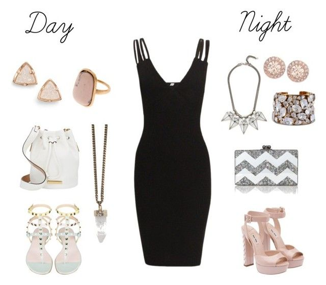 1 dress | Day & Night by earringsandstuff on Polyvore featuring polyvore, moda, style, Miu Miu, Marc by Marc Jacobs, Edie Parker, Kendra Scott, STELLA McCARTNEY, Givenchy, Rebecca Minkoff and LBD