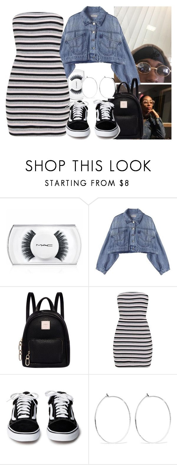 """d i s t a n t"" by oshonsparkles ❤ liked on Polyvore featuring MAC Cosmetics, Fiorelli and Catbird"