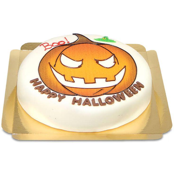 Dr. Oetker Halloween Torte - Diese leckere Hallowenn-Torte kannst du selbst dekorieren mit den exklusiven Dr. Oetker Deko-Materialien.  #Halloween #Torte