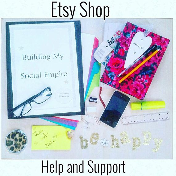 Etsy shop Analyst, online shop support, Website Analyst, Business journal, Business support, online marketing, Social media help and support