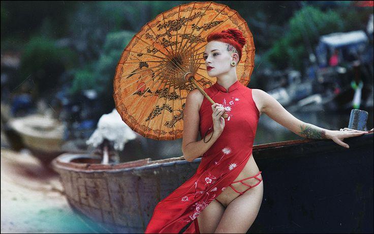 "Geisha - Photographed at the workshop ""THAI HOLIDAYS-2""  Thailand, Phuket  Patong ©2015"