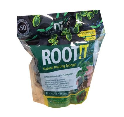 ROOT iT Natural Rooting Sponges - Germinate seeds and root clones reliably and quickly