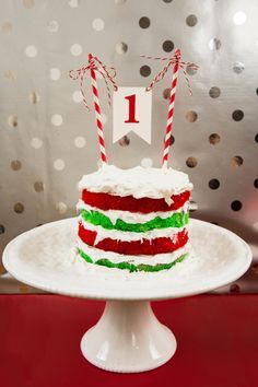 Christmas Smash Cake - Google Search