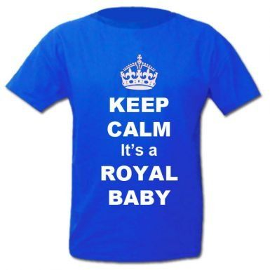 Royal baby boy shirt