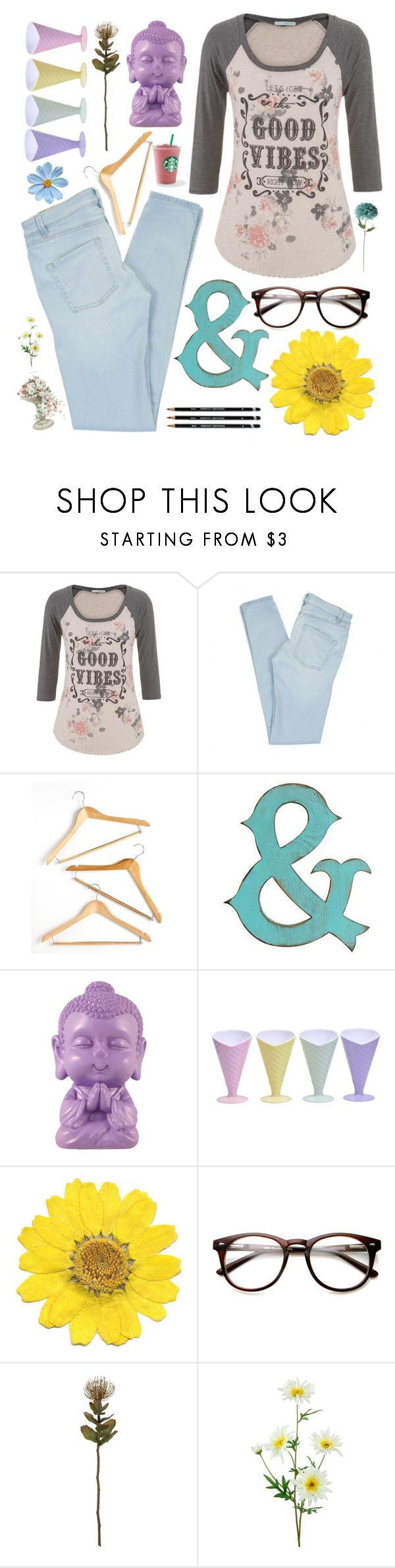 """But..."" by larissa-k ❤ liked on Polyvore featuring maurices, Marc by Marc Jacobs, Honey-Can-Do, Slippin' Southern, Été Swim and Crate and Barrel"