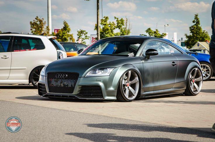 #Audi #TT #Slammed #Stance #Modified