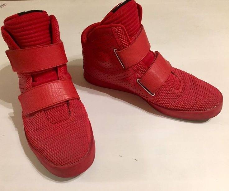 MEN'S NIKE FLYSTEPPER 2K3 YEEZY RED OCTOBER SHOES 677473-601 SIZE US 13  | eBay