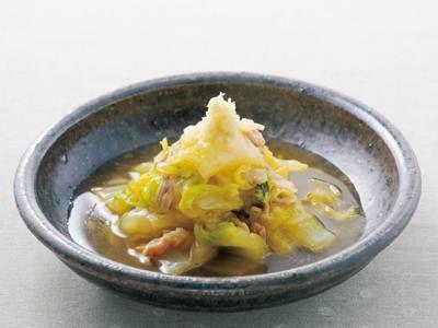 [白菜のあんかけ] 料理レシピ|みんなのきょうの料理