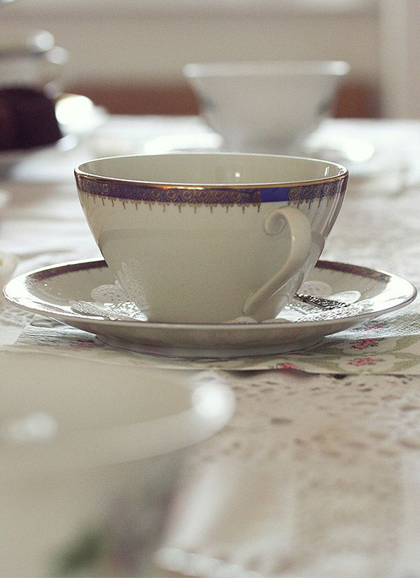 vintage tea party tazza - vintage tea cup