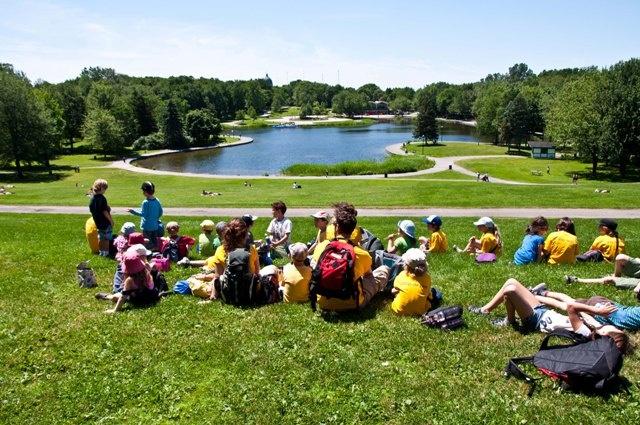 Liste d'activités en famille au Parc du Mont-Royal.   #montreal