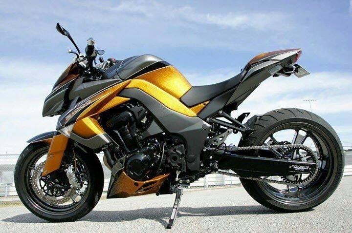 Custom Kawasaki Z1000 #wheels