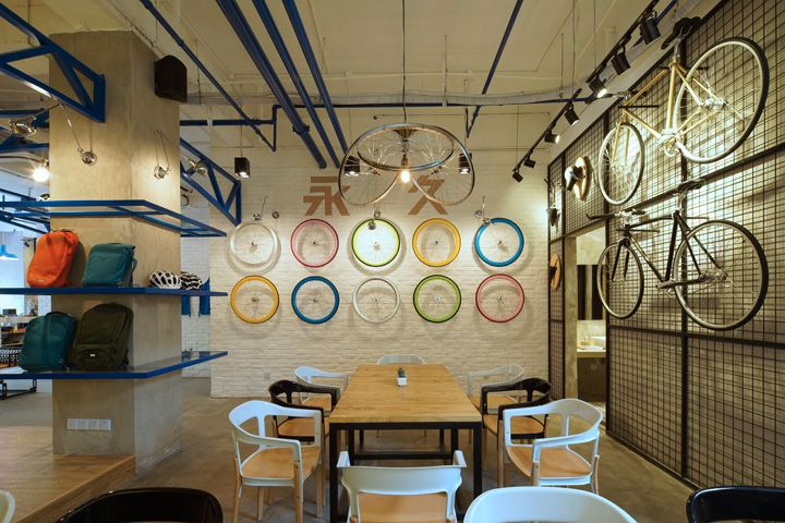 Yong jiu bike caf by kyle chan shanghai china hotels for Hae yong interior designs