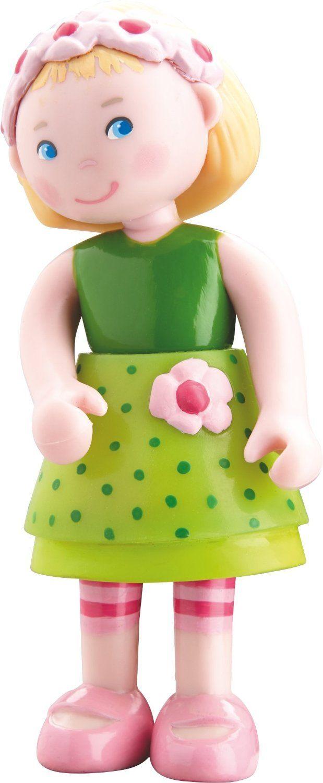 "Amazon.com: HABA Little Friends Mali - 4"" Bendy Girl Dollhouse Doll Figure with Blonde Hair & Headband: Toys & Games"