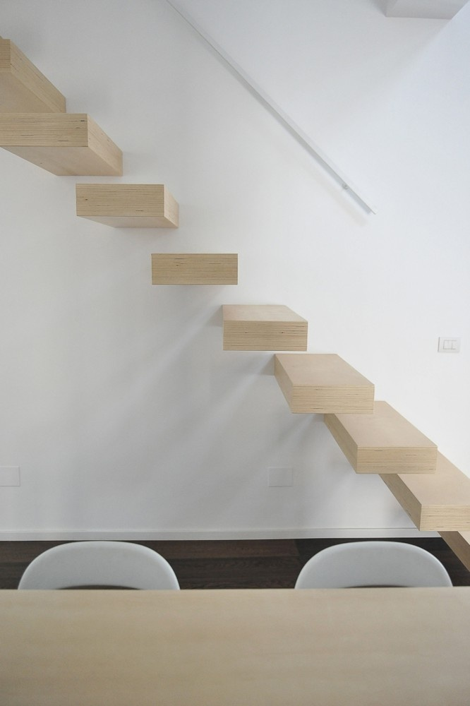 floating stairs..