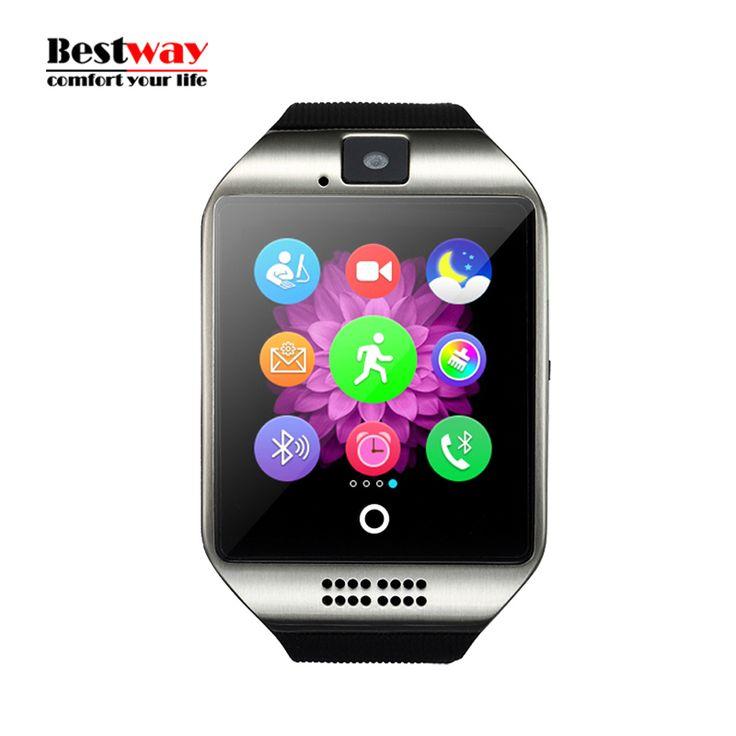 Bluetooth Smart Watch Wasserdicht Apro Smartwatch Unterstützung NFC Sim-karte Kamera Für Iphone Samsung Android-Handy Twitter Facebook //Price: $US $33.74 & FREE Shipping //     #meinesmartuhrende