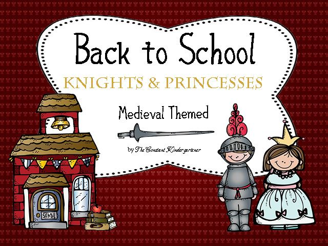 Back to school Knights and Princesses is a medieval themed pack for the beginning of the school year. Includes craftivities, classroom essentials, writing activities, an original bonding game, classroom door welcome sign templates, gift bag toppers, coloring activities, alphabet flash cards, numbers flash cards, graphic organizers and more! $7
