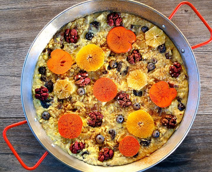 One Sweet Holiday: A Genius Dessert Paella Recipe - The Chalkboard