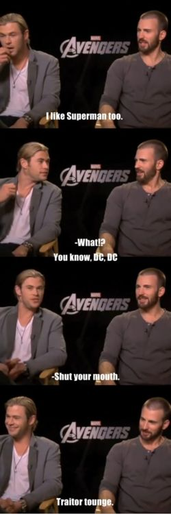 Looks like Chris Evans just ditched Marvel and went to the dark side. *bahahahahaha*