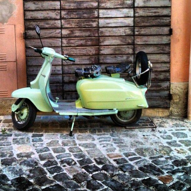 Lambretta in Montefiore Conca - Instagram by @thetravelbunny