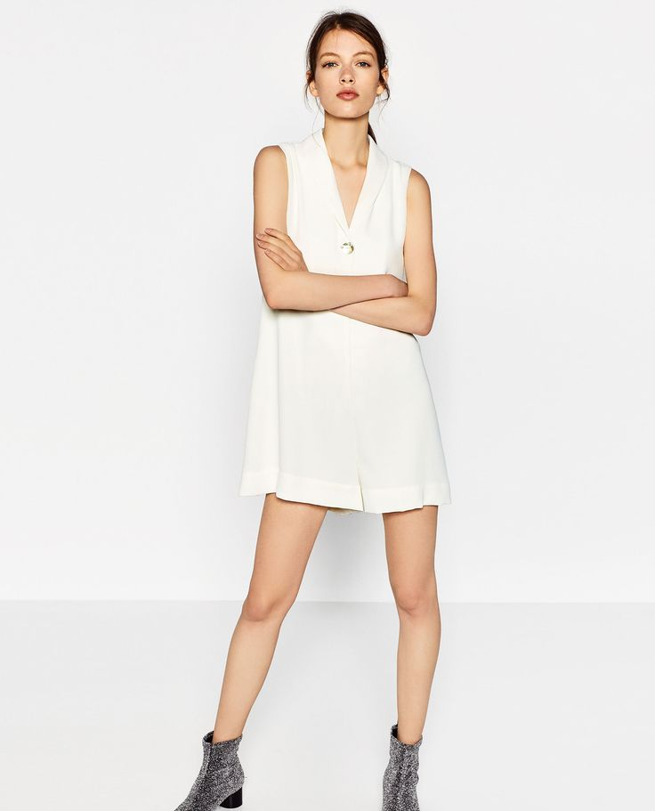 ZARA - TRF - SHORT JUMPSUIT