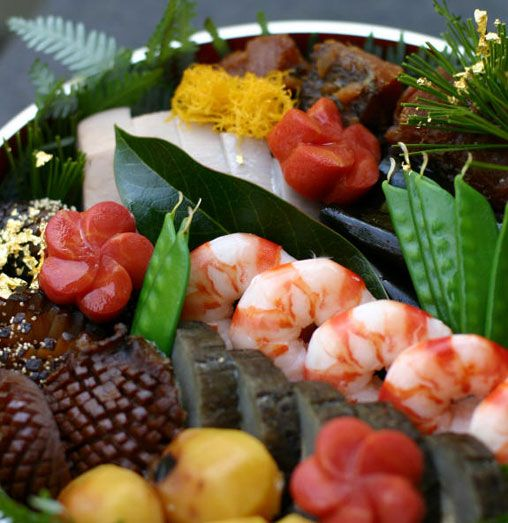 osechi for new year!!