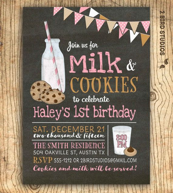 Hey, I found this really awesome Etsy listing at https://www.etsy.com/listing/254784669/cookies-and-milk-invitation-milk-and