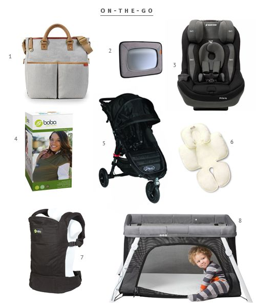 Minimalist Baby Registry | The Fauxmartha - convertible car seat, infant insert for citi mini stroller, etc