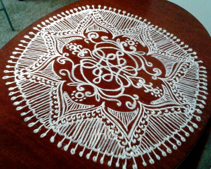 Kolam with celtic knot !!!