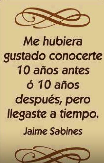 Jaime Sabines ATiempo.........