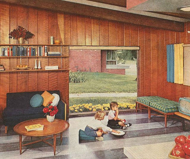 Modern Vintage Home Decor Ideas: Sixties Interior Design: A Collection Of Ideas To Try