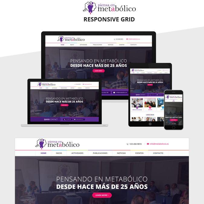 Excepcional Eventos Wordpress Theme Bandera - Colección De ...