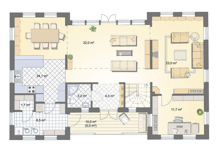 3303 besten h user und grundrisse bilder auf pinterest grundrisse ideen und wohnhaus. Black Bedroom Furniture Sets. Home Design Ideas