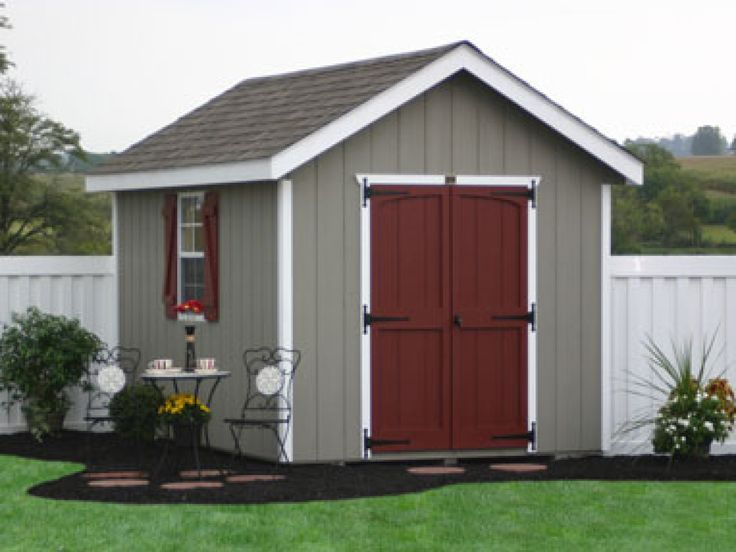 classic wooden storage sheds for pa nj ny ct de md - Garden Sheds Nj