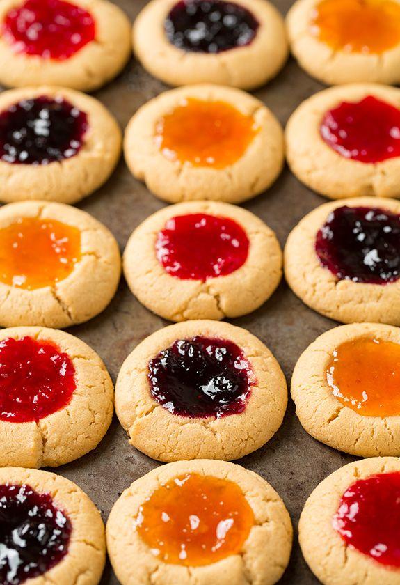 ... Thumbprint Cookies on Pinterest | Thumbprint cookies, Cookies and