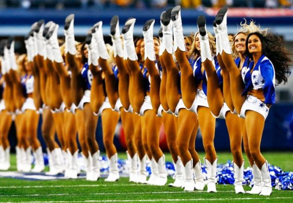 NFL Cheerleaders Workout Routine