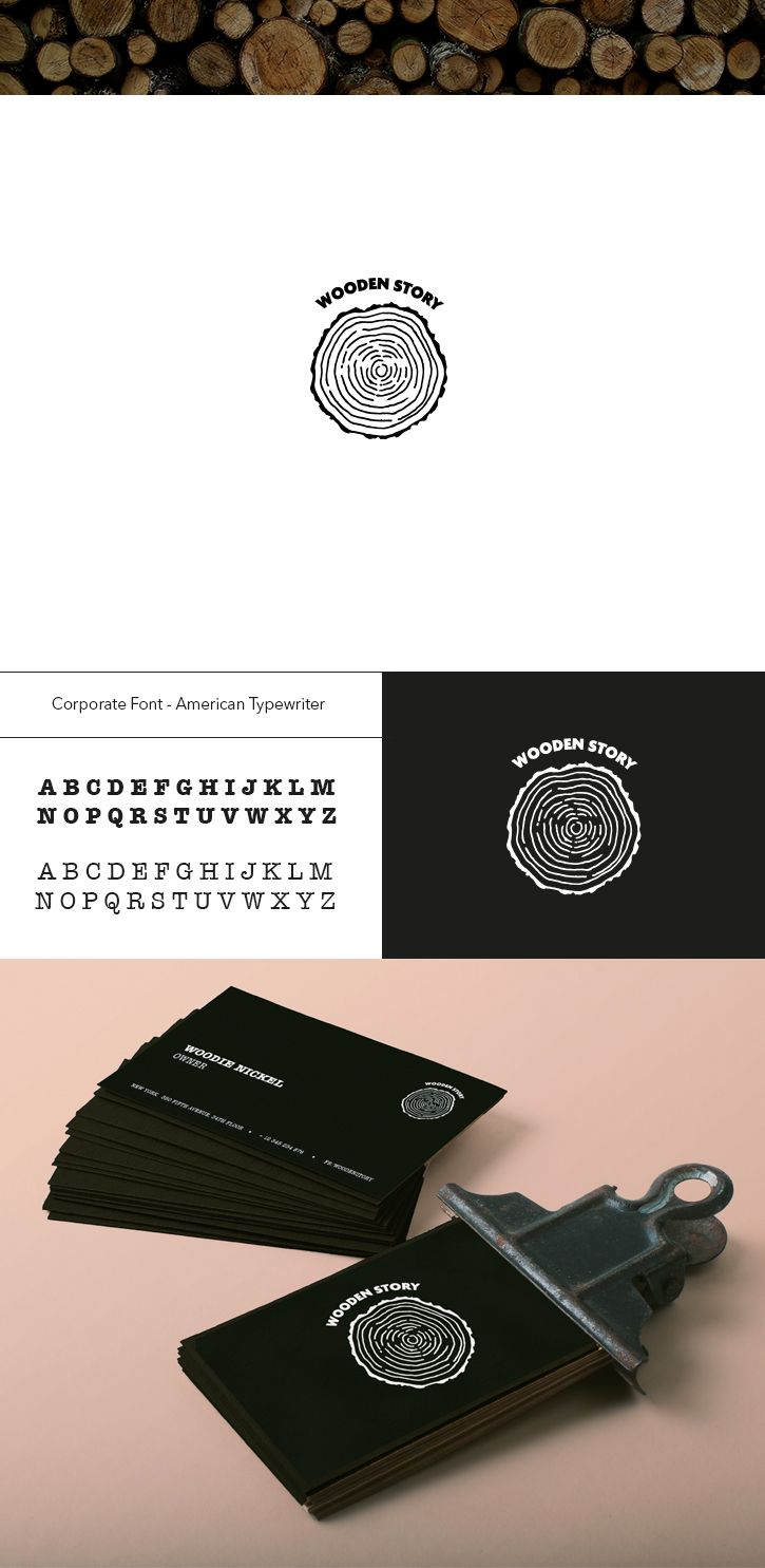 Logo Design / Wood / Forest inspiration on Behance