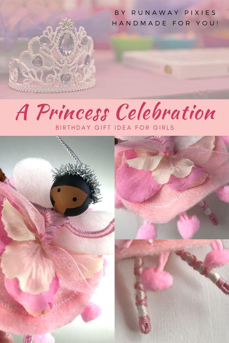 Personalized Dancer Ornament, Princess Birthday Fairy