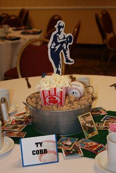 1000+ ideas about Baseball Centerpiece