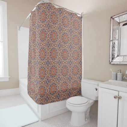 Rocky Roads  Vintage  Shower Curtain - rustic gifts ideas customize personalize