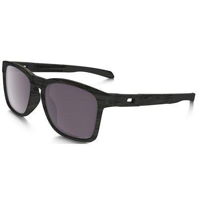 Óculos de Sol Oakley Catalyst Woodgrain com Lente Prizm Polarizado - OO927220
