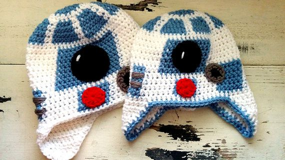 Hey, I found this really awesome Etsy listing at https://www.etsy.com/listing/268828972/r2d2-robot-crochet-hat-download-pattern
