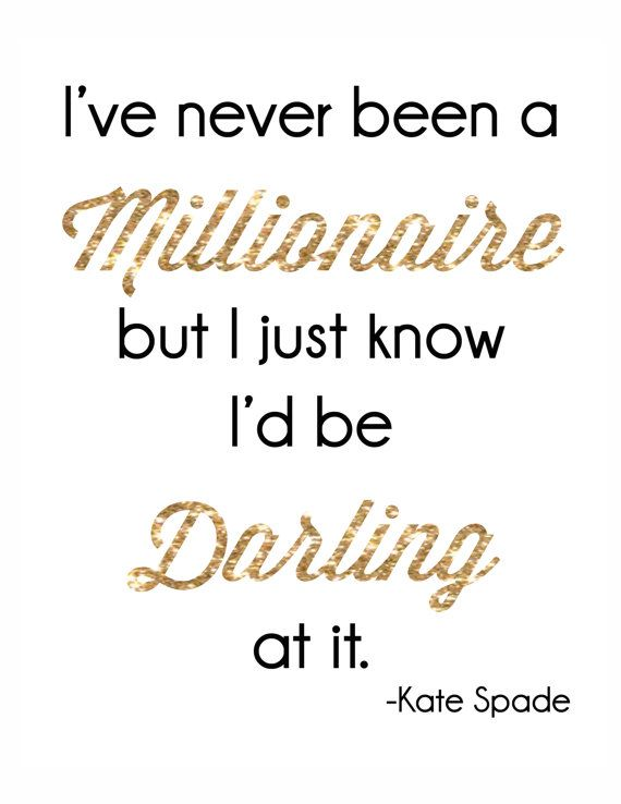 Kate Spade Quotes Custom Cute Kate Spade Sayings Pinterest Crafts Picture