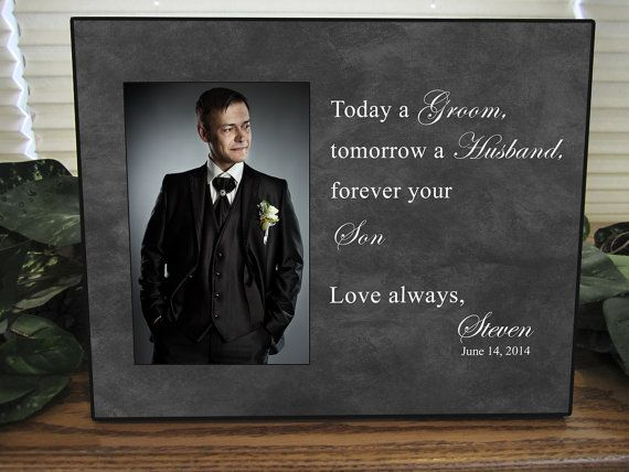 Mother Of The Groom Gift Always Your Son Wedding Frame