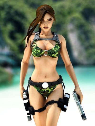 Lara craft sexy pixs