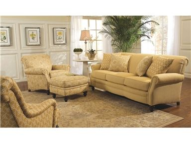 Shop For Smith Brothers Three Cushion Sofa 383 10 And Other Living Room